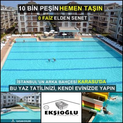 Sakarya Karasu Ekşioğlu City Projesi Müşteri yazılarımız